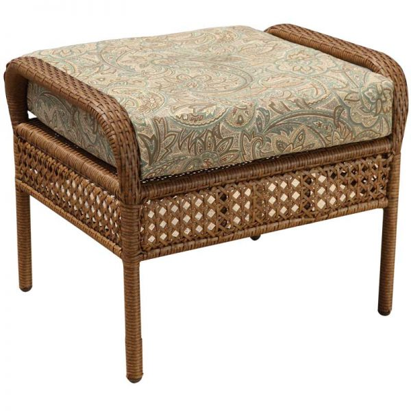 Kona Wicker Collections ottoman