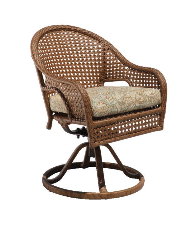 Kona Wicker Collections swivel chair