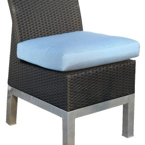 124-06 Armless Dining Chair Cushion