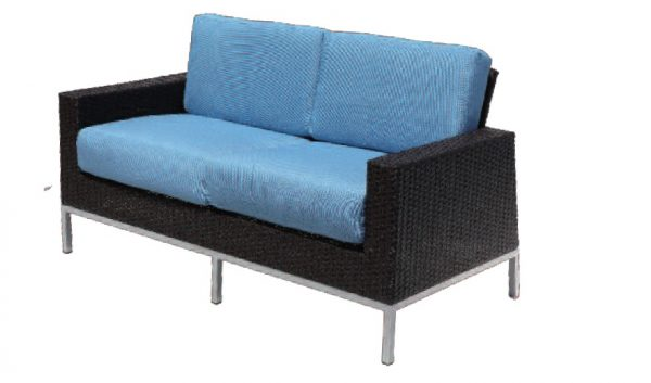 Avenir Wicker collection Swivel love seat