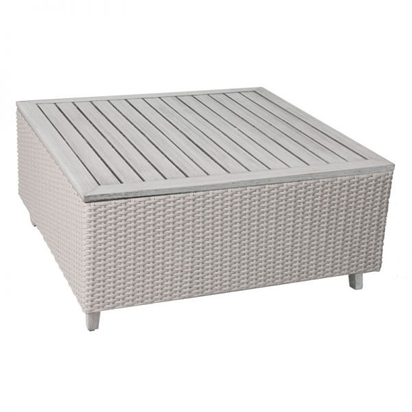 Haven Wicker Collections coffee table