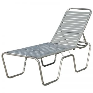 "143S 18"" Seat-Height Chaise – Stackable"