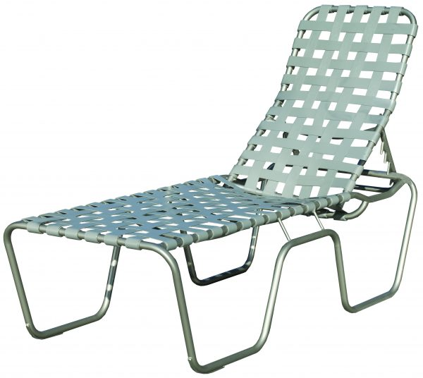 Sanibel Cross Strap Collections Chaise Lounge