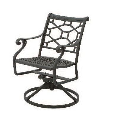 Presidio Cast Collections Swivel Chair