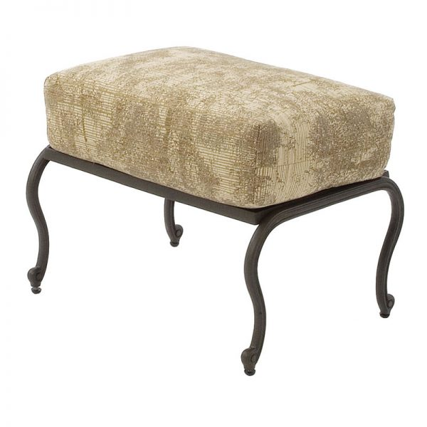 Olympia Cast Collection Ottoman