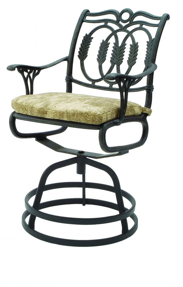 Olympia Cast Collection Swivel Chair