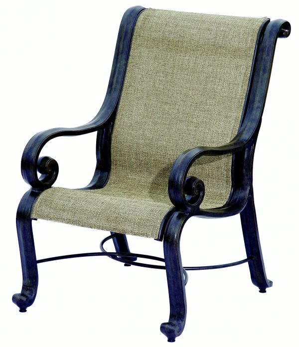 San Marco Sling Cast Combination Dining Chair