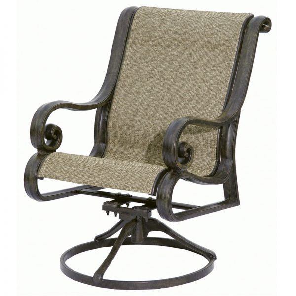 San Marco Sling Cast Combination Swivel Chair