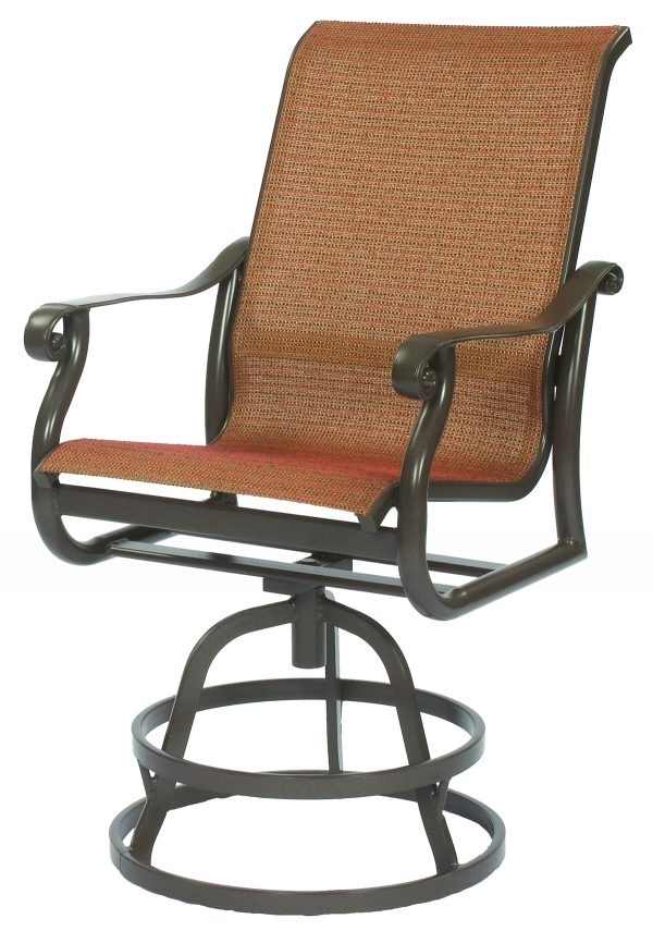Rendezvous Sling Cast Collections Swivel Chair