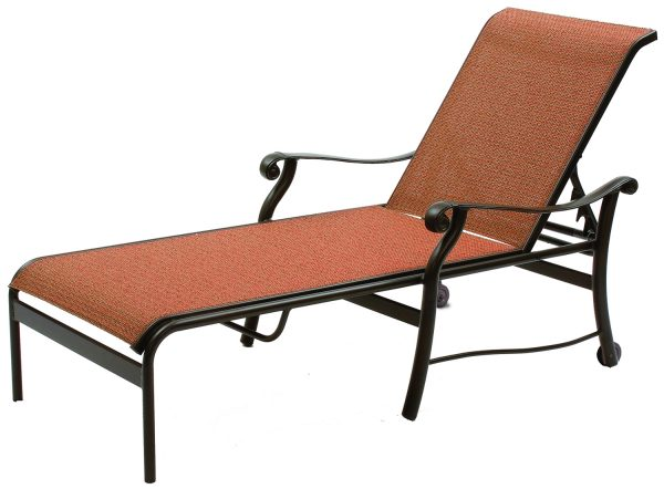 Rendezvous Sling Cast Collections Chaise Lounge