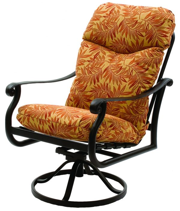 Rendezvous Cushion Cast Collections Swivel Chair