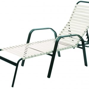 "943S 18"" Seat Height Chaise Lounge – Stackable"