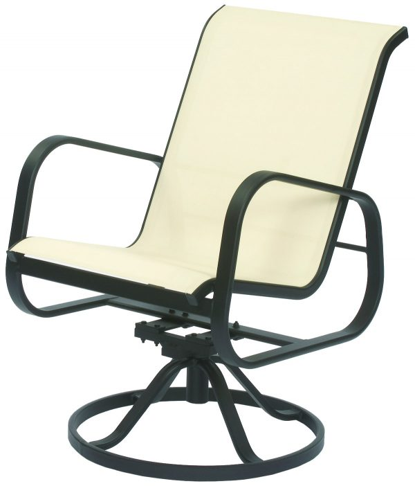 Seascape Sling Swivel Tilt Chair