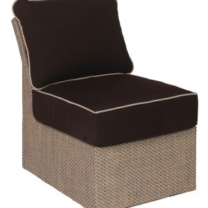 D831 Armless Section Chair Cushion
