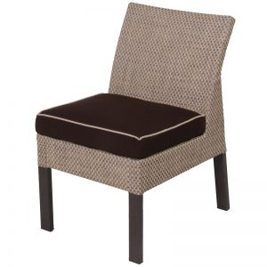 D806 Armless Dining Chair Cushion