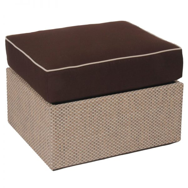 upholstered summer collection Ottoman