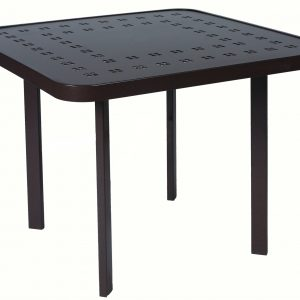 E4T30S Dining Table 30″ Square – Slat Pattern