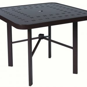 "E4T36 36"" Slat Design Dining Table"