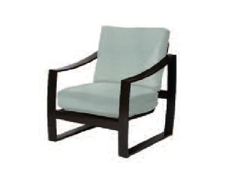 Pinnacle Sling & Cushion Collection Leisure Chair
