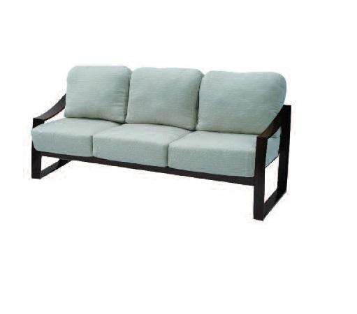 Pinnacle Sling & Cushion Collection Sofa