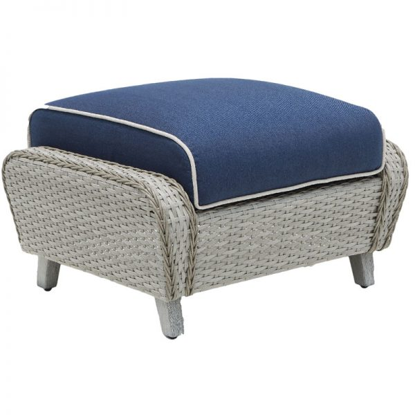 Haven Wicker Collections Ottoman