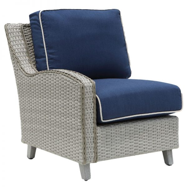 Haven Wicker Collections Section chair