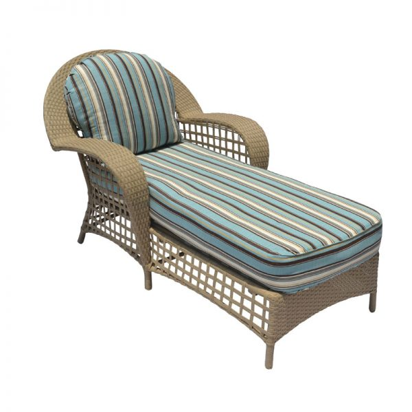 Sedona Wicker collection Chaise Lounge