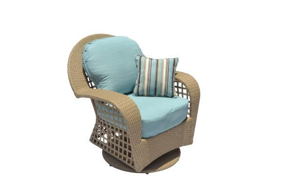 Sedona Wicker collection Swivel Chair