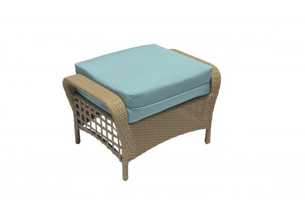 Sedona Wicker collection Ottoman