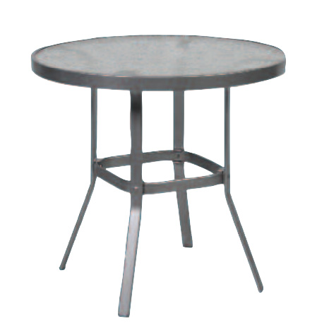 Bar Height Glass Table