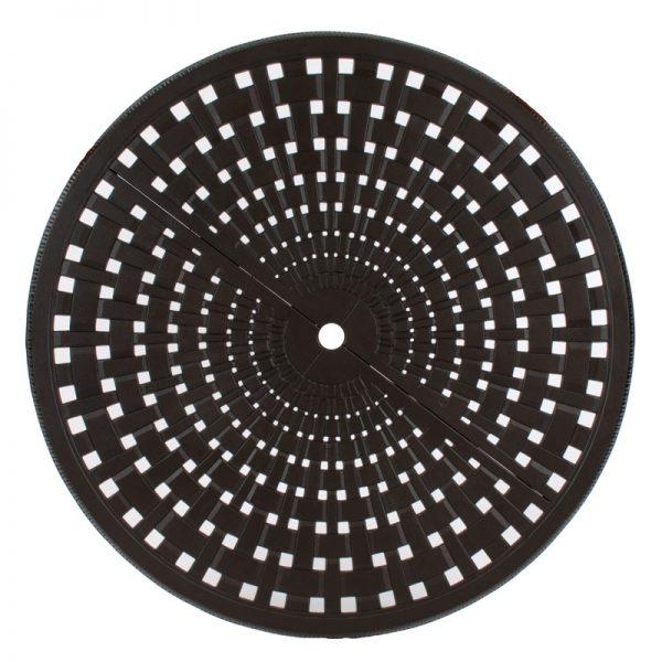 Basket Weave Aluminum Design
