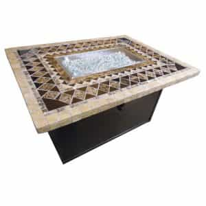 Firepit Table Onyx Top