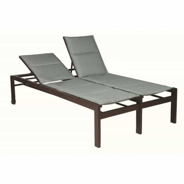 E498 Double Chaise 18 Seat with Wheels