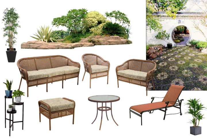Low Maintenance Easy Living Outdoor Patio